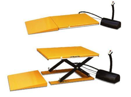 เครื่องยกสินค้า Low Profile Lift Table