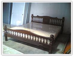 เตียงไม้ ประดู่ 6 ฟุต