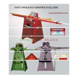 เครื่องตัดไม้กรอบรูปแบบเท้าเหยียบ