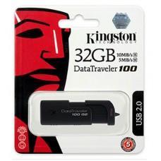 แฟลชไดรฟ์ 32GB 'Kingston' (DT-100G2)