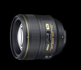 เลนส์กล้องถ่ายรูป AF-S 85 f/1.4G