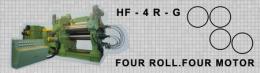เครื่องรีดยางแบบคาเรนเดอร์ HF-4R-G FOUR ROLL FOUR