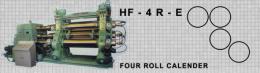 เครื่องรีดยางแบบคาเรนเดอร์ HF-4R-E FOUR ROLL CALENDER
