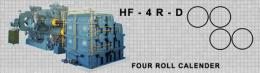 เครื่องรีดยางแบบคาเรนเดอร์ HF-4R-D FOUR ROLL CALENDER