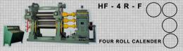 เครื่องรีดยางแบบคาเรนเดอร์ HF-4R-F FOUR ROLL CALENDER