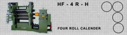 เครื่องรีดยางแบบคาเรนเดอร์ HF-4R-H FOUR ROLL CALENDER