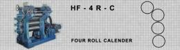 เครื่องรีดยางแบบคาเรนเดอร์ HF-4R-C FOUR ROLL CALENDER