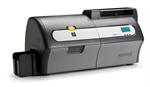 ครื่องพิมพ์บัตร ZXP7 300 dpi 11 8 dots per mm print resolution USB 2 0 and Ethernet 10 100 connecti