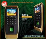 เครื่องสแกนลายนิ้วมือ HIP CI670 60000 Record 3000 Password 3000 Card USB SLAVE TCPIP RS485