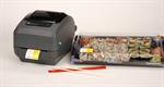 เครื่องพิมพ์บาร์โค้ด Zebra GK420t thermal transfer printer Specs Resolution 203 dpi (8 dots/mm)