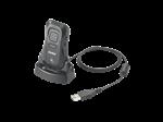 เครื่องอ่านบาร์โค้ดไร้สายและเก็บข้อมูล CS3070 Batch/ Bluetooth 1D scanning. Cordless (1.2 m) drops t