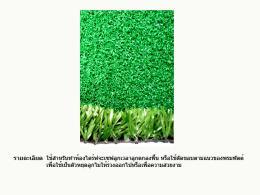 พรมหญ้าเทียมขนาดความสูง 23 มม.