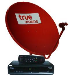 ชุดจานดาวเทียม True Vision (UBC)