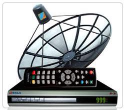 ชุดรับสัญญาณดาวเทียม PSI รุ่น Dfix OTA