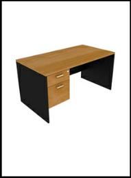 โต๊ะทำงาน 2 ลิ้นชัก D-1220