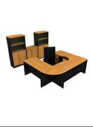 โต๊ะทำงานไม้ EX-2