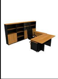 โต๊ะทำงานไม้ EX - 1