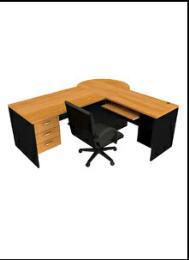 โต๊ะทำงานไม้  OF-3