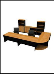 โต๊ะทำงานไม้  OF-1