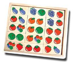 โดมิโน ผัก , ผลไม้ 3002