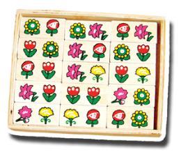 โดมิโน ดอกไม้ 3007
