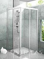 ฉากกั้นอาบน้ำ แบบมีเฟรม รุ่น PEARL 90
