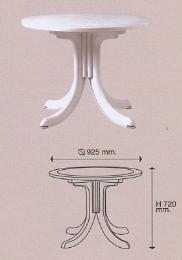 เก้าอี้พลาสติก รุ่น T 16