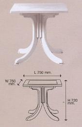 เก้าอี้พลาสติก รุ่น T 5 - V3
