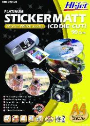 สติกเกอร์ CD Die-cut แบบด้าน