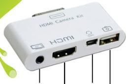 เครื่องหัวต่อ Infone HDMI Connection Kit for iPad