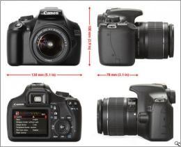 กล้องดิจิตอล Canon EOS 1100D