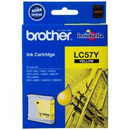 หมึกพิมพ์ brother LC57Y Yellow