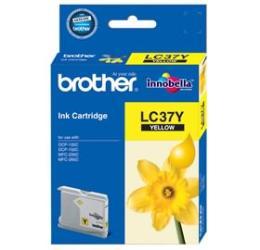 หมึกพิมพ์ brother LC37Y Yellow