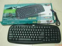 แป้นพิมพ์ MD tech KB-888
