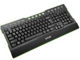 แป้นพิมพ์ Delux DLK-5881