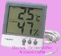ชุดวัดอุณหภูมิและความชื้นสัมพัทธ์  PC-5000 TRH-II