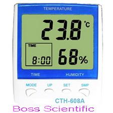 ชุดวัดอุณหภูมิและความชื้นสัมพัทธ์ CTH608A