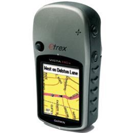 เครื่องหาพิกัดด้วยสัญญาณดาวเทียม eTrex Vista HCx