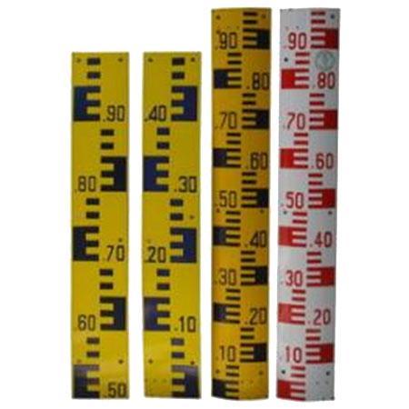 แผ่นวัดระดับน้ำ Staffgage