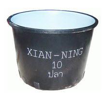 ถังอ่างพลาสติก RTO-500 สีดำ