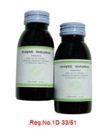 ยาปฏิชีวนะ โพลี่ทิล ชนิดน้ำ (Polytil Solution)