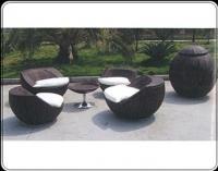 โซฟาเก้าอี้หวายเทียม Modern design