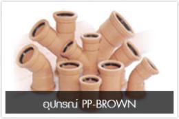 อุปกรณ์ PP-BROWN แบบ BELT-FIT