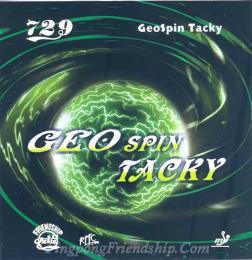 ยางปิงปอง 729 Geo Spin Tacky
