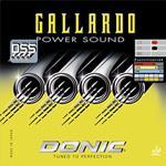 ยางปิงปองDONIC GALLARDO POWER SOUND