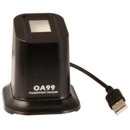 อุปกรณ์เสริมหัวอ่านลายนิ้วมือแบบ USB