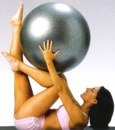 เครื่องออกกำลังกาย ลูกบอลออกกำลังกาย