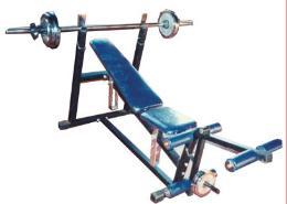 เครื่องออกกำลังกาย เก้าอี้บารเบลใหญ่