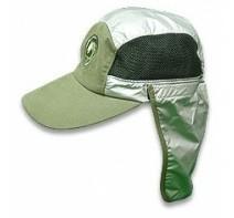 หมวกแก๊ปปิดท้ายทอยเคลือบ UV