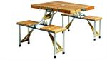 โต๊ะสนาม Picnic ไม้
